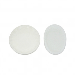 Plastic snuff dish-round or oval